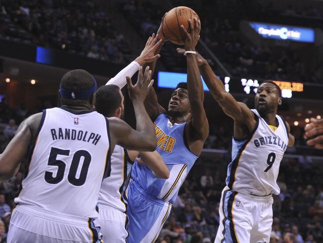 Memphis Grizzlies vs. Denver Nuggets - 11/8/16 NBA Pick, Odds, and Prediction