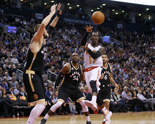 Hawks vs. Raptors - 4/7/16 NBA Pick, Odds, and Prediction