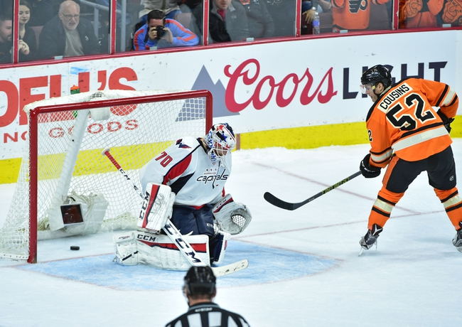 Washington Capitals vs. Philadelphia Flyers - 4/14/16 NHL Pick, Odds, and Prediction