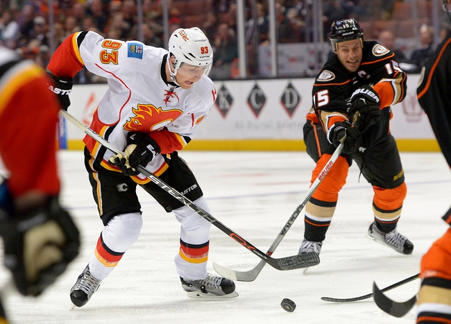 Anaheim Ducks vs. Calgary Flames - 11/6/16 NHL Pick, Odds, and Prediction