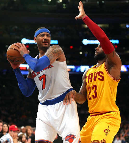 Cleveland Cavaliers vs. New York Knicks - 10/25/16 NBA Pick, Odds, and Prediction