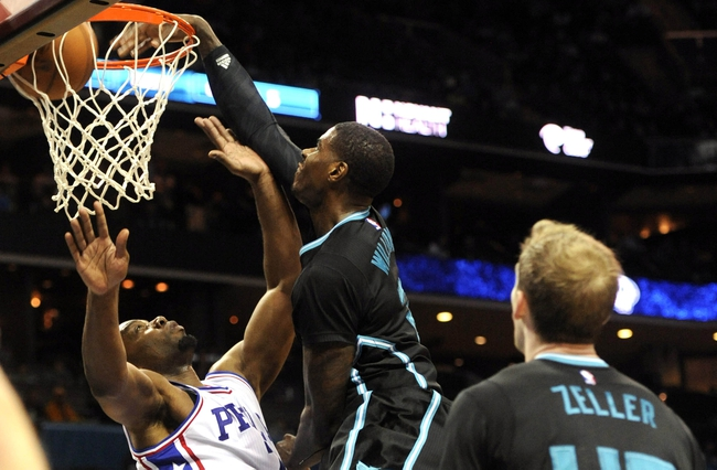 Charlotte Hornets vs. Philadelphia 76ers - 11/2/16 NBA Pick, Odds, and Prediction
