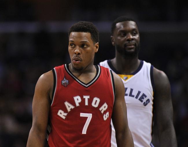 Memphis Grizzlies at Toronto Raptors - 11/30/16 NBA Pick, Odds, and Prediction