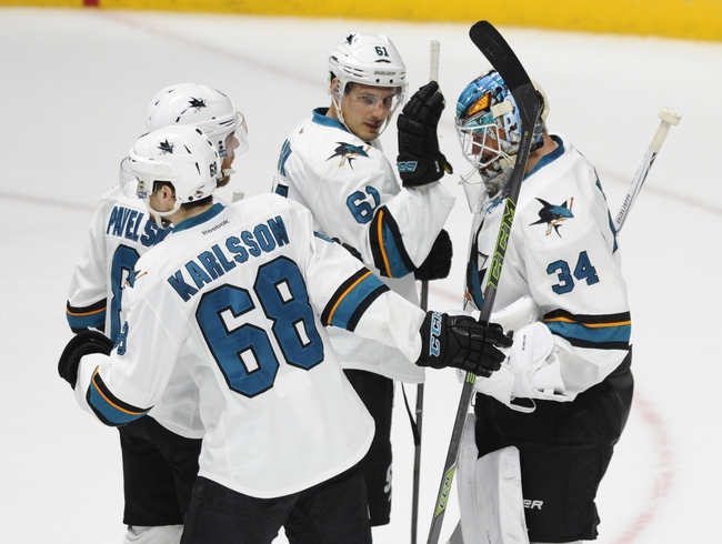 San Jose Sharks vs. Nashville Predators - 4/29/16 NHL Pick, Odds, and Prediction