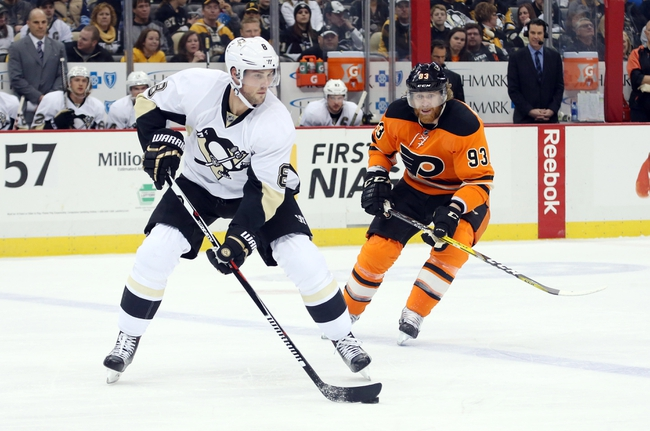 Flyers vs. Penguins - 4/9/16 NHL Pick, Odds, and Prediction