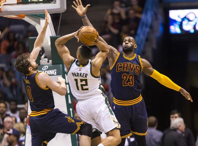 Milwaukee Bucks vs. Cleveland Cavaliers - 11/29/16 NBA Pick, Odds, and Prediction