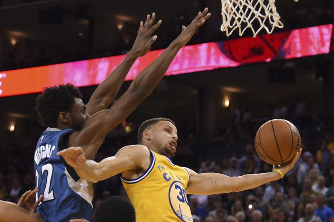 Golden State Warriors vs. Minnesota Timberwolves - 11/26/16 NBA Pick, Odds, and Prediction