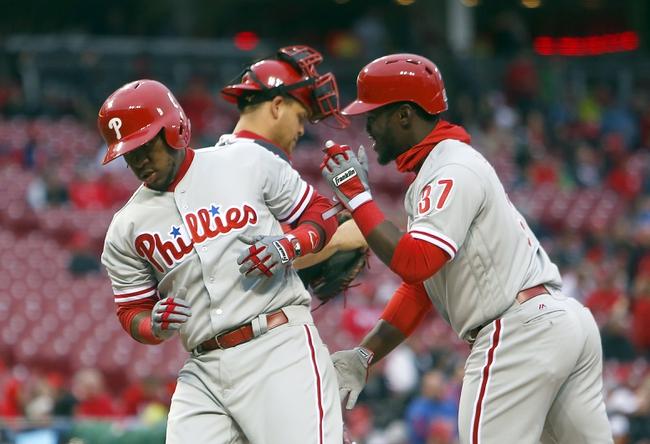 Cincinnati Reds vs. Philadelphia Phillies - 4/7/16 MLB Pick, Odds, and Prediction
