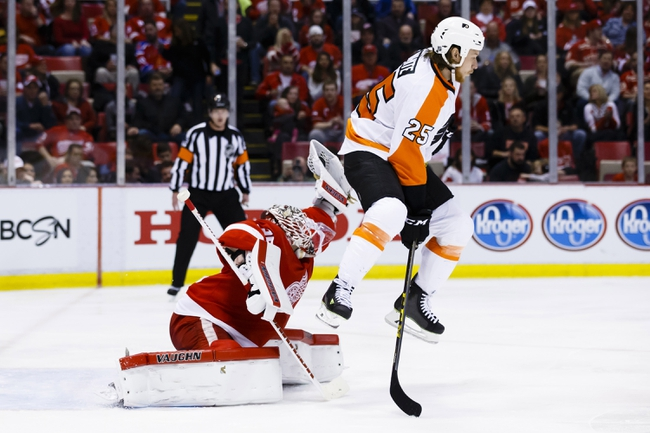 NHL News 4/7/16: Jimmy Howard Saves 30 As Red Wings Blank Flyers