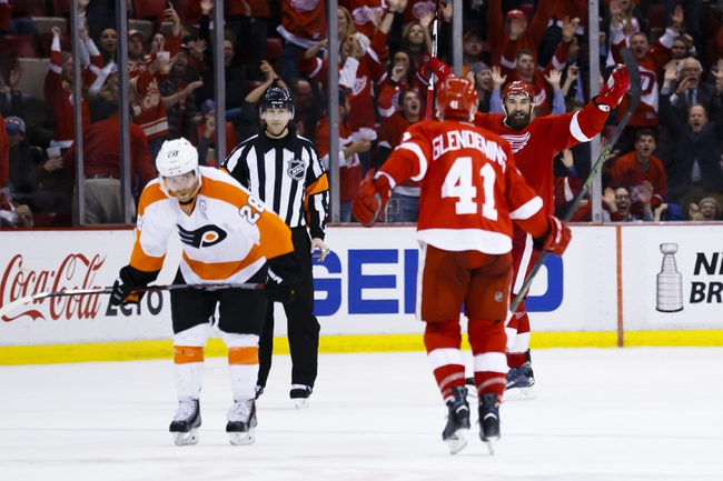 Philadelphia Flyers vs. Detroit Red Wings - 11/2/16 NHL Pick, Odds, and Prediction