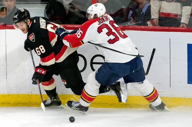 Ottawa Senators vs. Florida Panthers - 11/19/16 NHL Pick, Odds, and Prediction