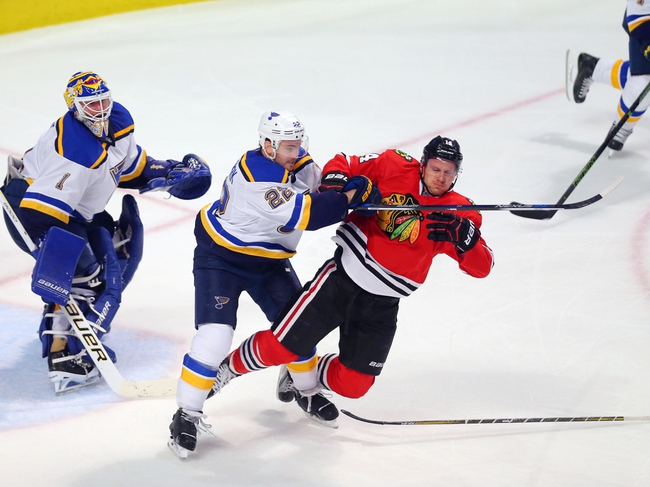 Blackhawks at Blues - 4/13/16 Game One Pick, Odds, and Prediction