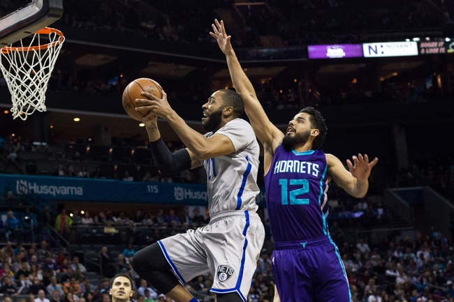 Brooklyn Nets vs. Charlotte Hornets - 11/4/16 NBA Pick, Odds, and Prediction