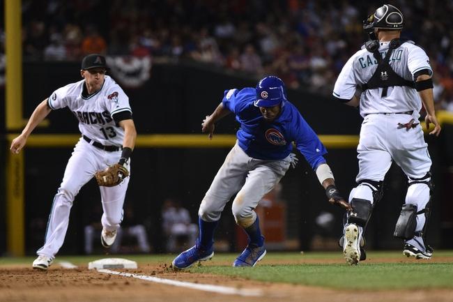 Diamondbacks vs. Cubs - 4/9/16 MLB Pick, Odds, and Prediction