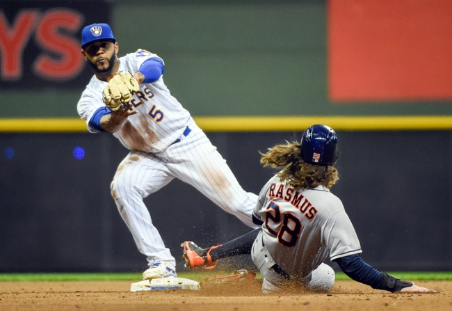Milwaukee Brewers vs. Houston Astros - 4/9/16 MLB Pick, Odds, and Prediction