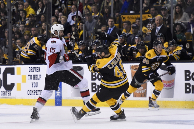 Ottawa Senators vs. Boston Bruins - 11/24/16 NHL Pick, Odds, and Prediction