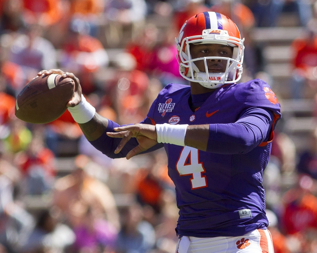 Clemson Tigers vs. Auburn Tigers - 9/3/16 College Football Pick, Odds, and Prediction
