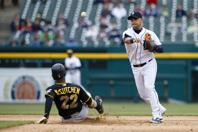 Detroit Tigers vs. Pittsburgh Pirates - 4/12/16 MLB Pick, Odds, and Prediction