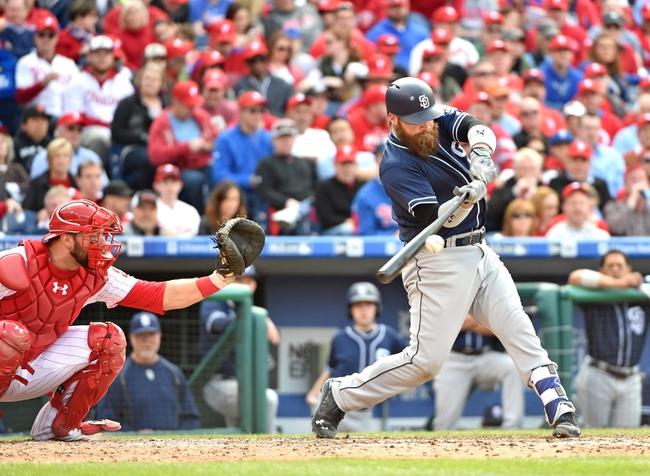 Philadelphia Phillies vs. San Diego Padres - 4/12/16 MLB Pick, Odds, and Prediction