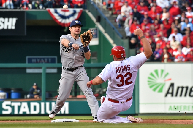 St. Louis Cardinals vs. Milwaukee Brewers - 4/14/16 MLB Pick, Odds, and Prediction