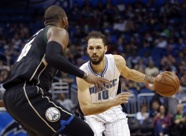 Milwaukee Bucks vs. Orlando Magic - 11/21/16 NBA Pick, Odds, and Prediction