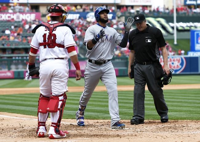 Angels at Rangers - 4/29/16 MLB Pick, Odds, and Prediction