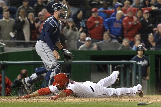 Washington Nationals vs. Atlanta Braves - 4/13/16 MLB Pick, Odds, and Prediction