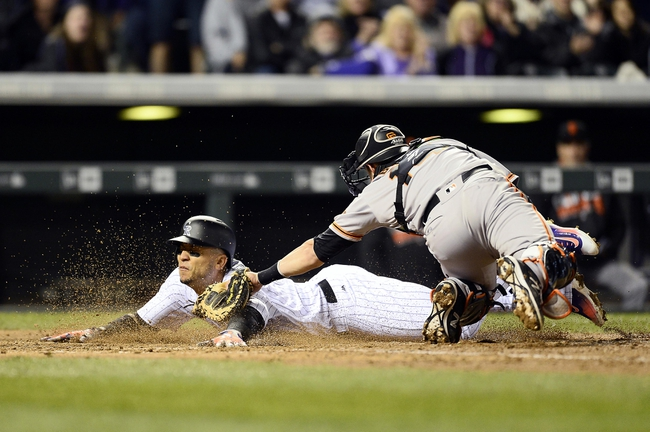 Colorado Rockies vs. San Francisco Giants - 4/13/16 MLB Pick, Odds, and Prediction