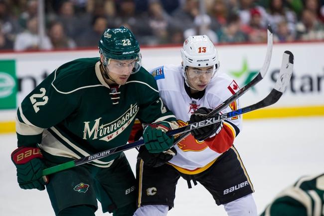 Minnesota Wild vs. Calgary Flames - 11/15/16 NHL Pick, Odds, and Prediction