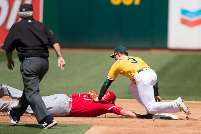 Athletics vs. Angels - 6/17/16 MLB Pick, Odds, and Prediction