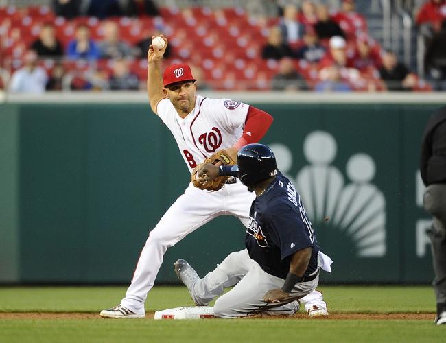 Washington Nationals vs. Atlanta Braves - 4/14/16 MLB Pick, Odds, and Prediction