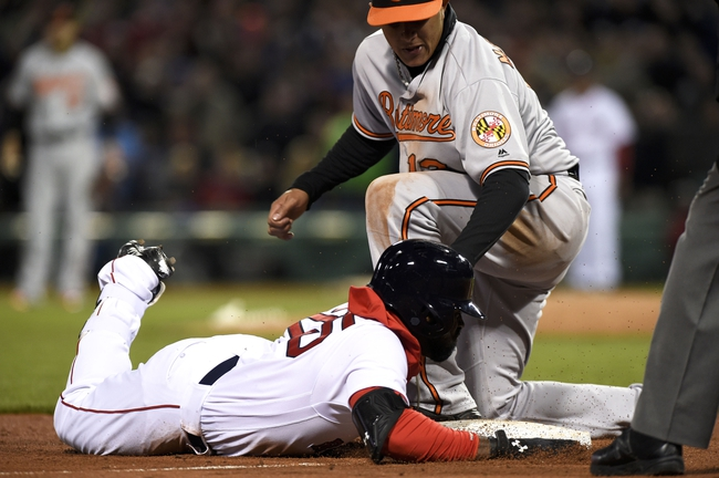 Baltimore Orioles vs. Boston Red Sox - 5/31/16 MLB Pick, Odds, and Prediction