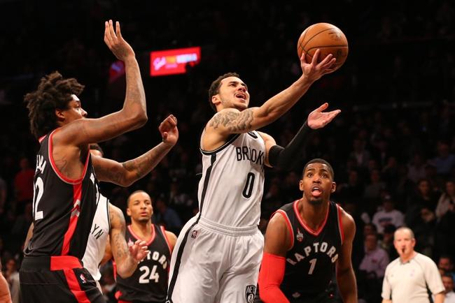 Lowry leads Raptors over Nets