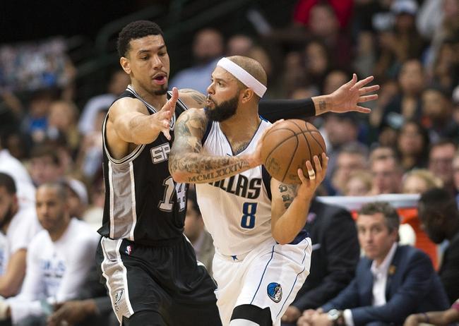 San Antonio Spurs vs. Dallas Mavericks - 11/21/16 NBA Pick, Odds, and Prediction