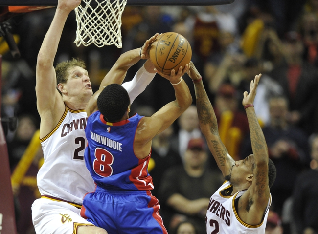 Cleveland Cavaliers vs. Detroit Pistons - 4/17/16 NBA Pick, Odds, and Prediction
