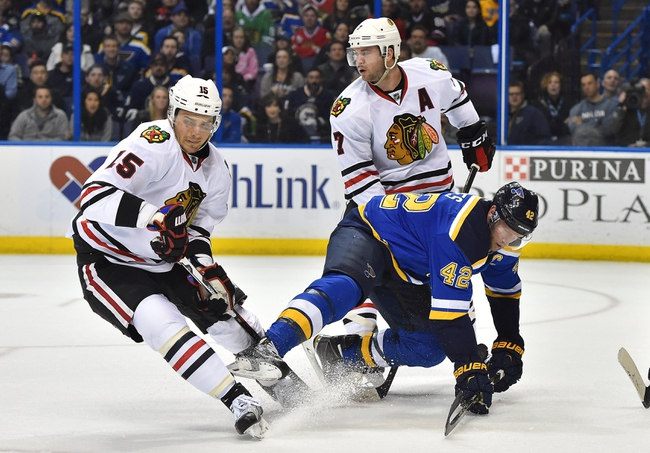 NHL News 4/14/16: Blues Take 1-0 Lead With OT Win Over Blackhawks