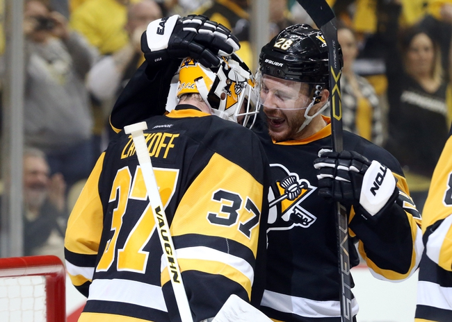 Pittsburgh Penguins vs. New York Rangers - 4/16/16 NHL Pick, Odds, and Prediction