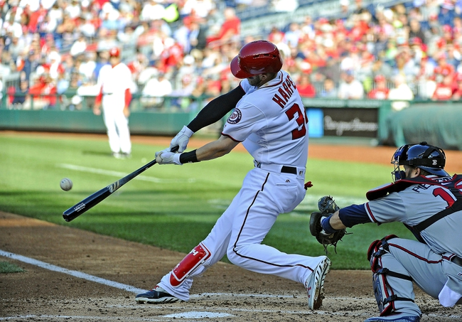 Washington Nationals vs. Atlanta Braves - 8/12/16 MLB Pick, Odds, and Prediction