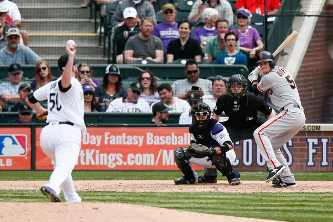 Rockies at Giants - 5/5/16 MLB Pick, Odds, and Prediction