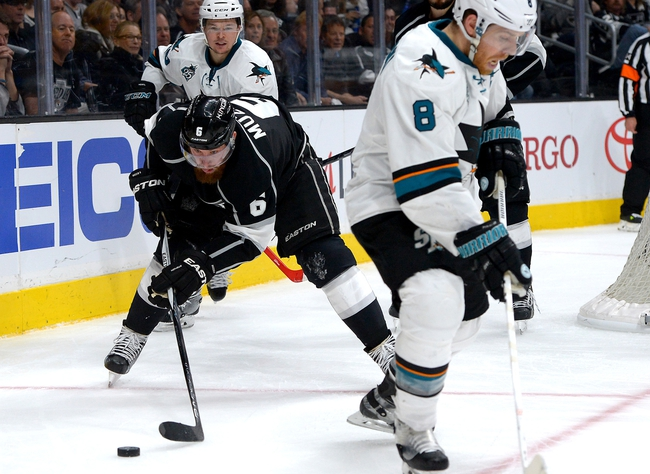Los Angeles Kings vs. San Jose Sharks - 4/16/16 NHL Pick, Odds, and Prediction
