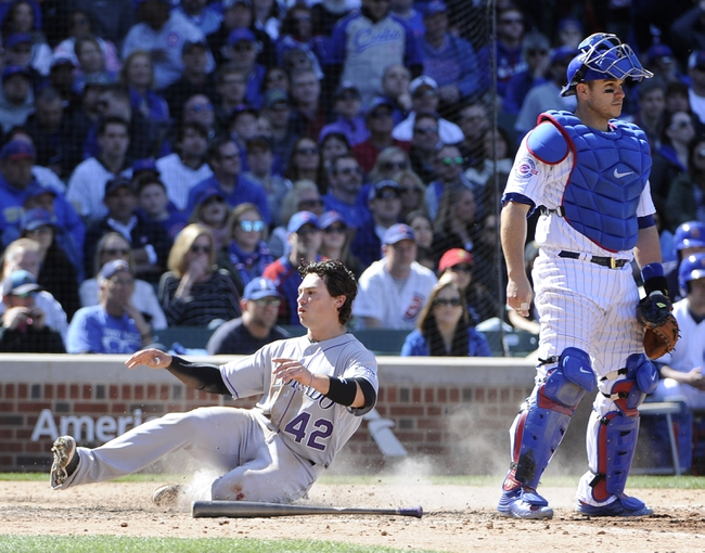 Chicago Cubs vs. Colorado Rockies - 4/16/16 MLB Pick, Odds, and Prediction
