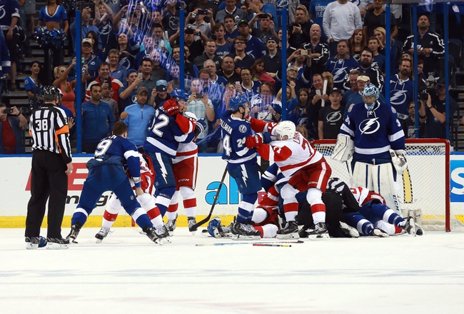 Lightning at Red Wings Game 3 - 4/17/16 NHL Pick, Odds, and Prediction