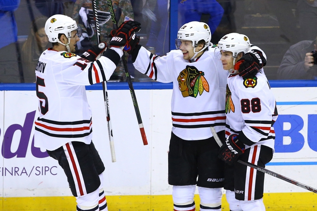 Chicago Blackhawks vs. St. Louis Blues - 4/17/16 NHL Pick, Odds, and Prediction