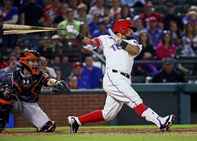Texas Rangers vs. Baltimore Orioles - 6/20/16 MLB Pick, Odds, and Prediction