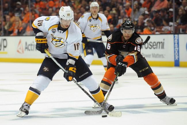 Predators at Ducks Game 2 - 4/17/16 NHL Pick, Odds, and Prediction