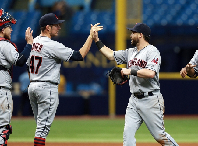 Cleveland Indians vs. Tampa Bay Rays - 6/20/16 MLB Pick, Odds, and Prediction