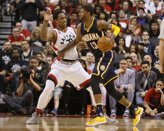 Toronto Raptors vs. Indiana Pacers - 4/18/16 NBA Pick, Odds, and Prediction