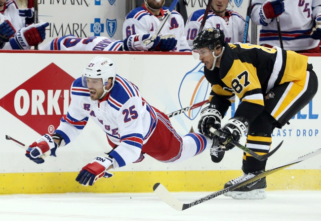 Penguins at Rangers Game 3 - 4/19/16 NHL Pick, Odds, and Prediction