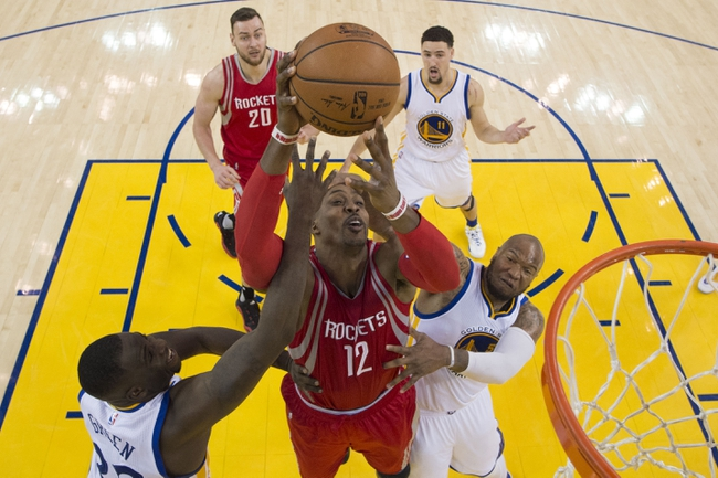 Golden State Warriors vs. Houston Rockets - 4/18/16 NBA Pick, Odds, and Prediction