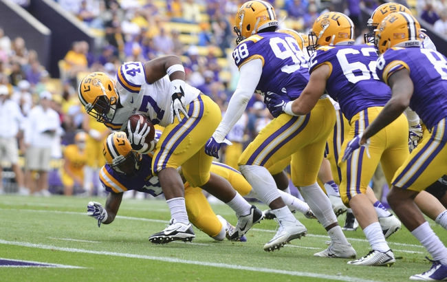 LSU at Wisconsin - 9/3/16 College Football Pick, Odds, and Prediction